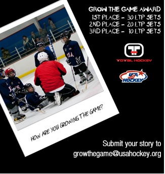 Total Hockey USA Hockey Grow The Game Award